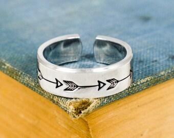 Arrow Ring - Adjustable Aluminum Ring
