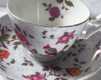 Crown Staffordshire Bone China Tea Cup