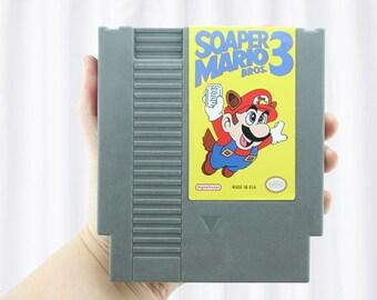 NES Classic Cartridge Soap Parody, Super Mario Bros, Super Mario, nes games, nintendo classic, classic NES, NES classic, Nintendo Cartridge