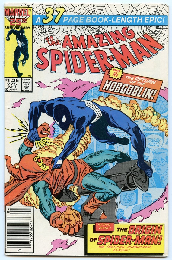 Amazing Spider-man 275 Apr 1986 VF (8.0)