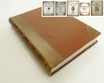 Hollow Book Harry Potter Hogwarts - Custom Wedding Ring Box, Jewellery Box, Key Safe, Trinket Box