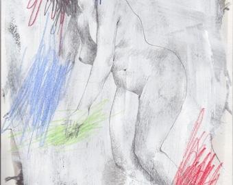Revenge Drawing #3- Original drawing