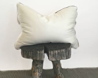 Organic Standard Pillow / Kapok Pillow / Pillow with Adjustable Firmness/ Gift for Her / Gift for Him