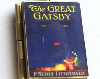 Great Gatsby, The - Book Cover Locket