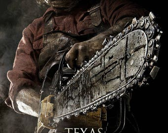 Texas Chainsaw 3D 2013 Remake Slasher Horror Film Movie Poster Print A3 A4