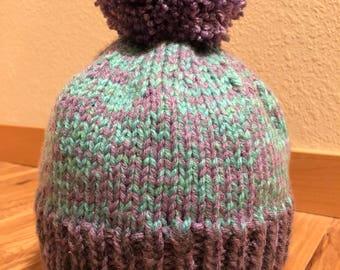 Knit Adult Hat