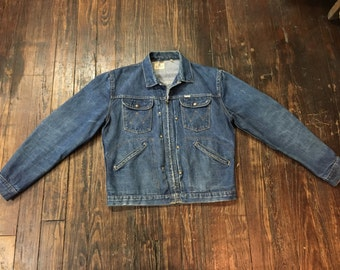 Vintage 1950's Wrangler Blue Bell Denim Jacket