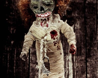 Ushemoi Monster Creepy doll Ooak halloween Christmas promotion