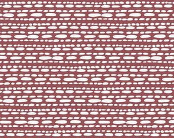 FAT QUARTER fabric exclusive MARSALA hawthornthreads