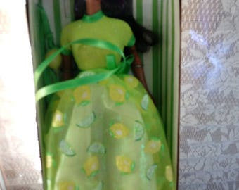 Lemon Lime Sorbet African American Barbie Doll