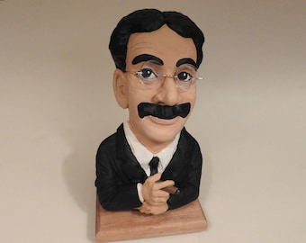 Groucho Marx Casting of my Original Sculpture