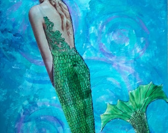WATER SPIRIT – Mermaid Art