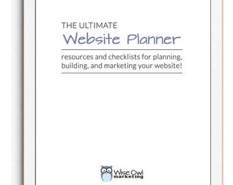 The Ultimate Website Planner & Checklist
