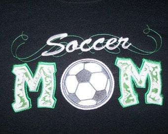 Soccer Mom Shirt Soccer Mom team spirit shirt