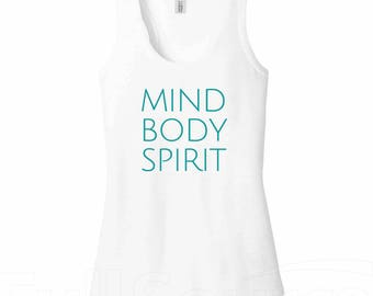 MINI mind body spirit daily wellness worksheet