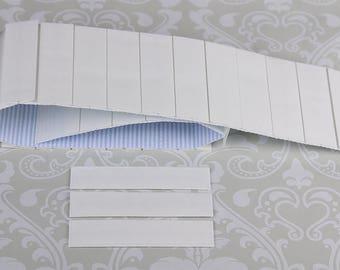 "Size 1""(20""W x 3""L) Mr. Pleater Board(Box Pleats) add perfect box pleats to fabric, fast and easy."