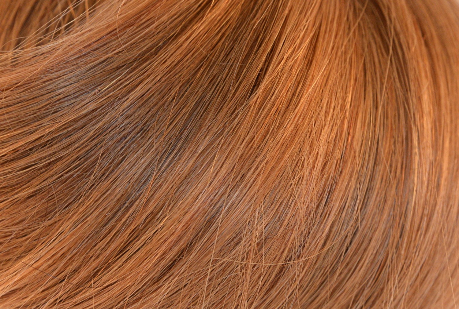 Strawberry Blonde Human Remy Hair Extensions Full Head