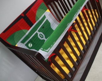 Star Wars baby bedding--Boba Fett--Custom Crib Bedding-MTO