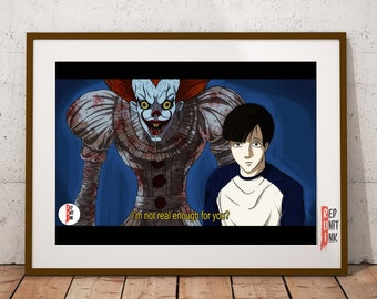 IT (Death note Crossover) - (A3) Print
