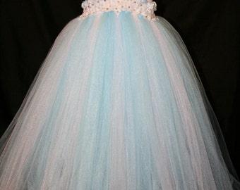 Frozen Inspired Tutu Dress, Frozen Tutu Dress, Elsa Tutu Dress, Princess Elsa Tutu Dress,  Tutu Dress, Elsa, Elsa Costume, Elsa Dress up