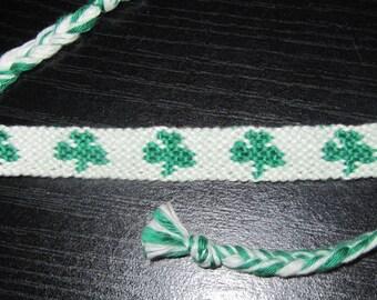 Bracelet Brazilian 3 leaf clovers