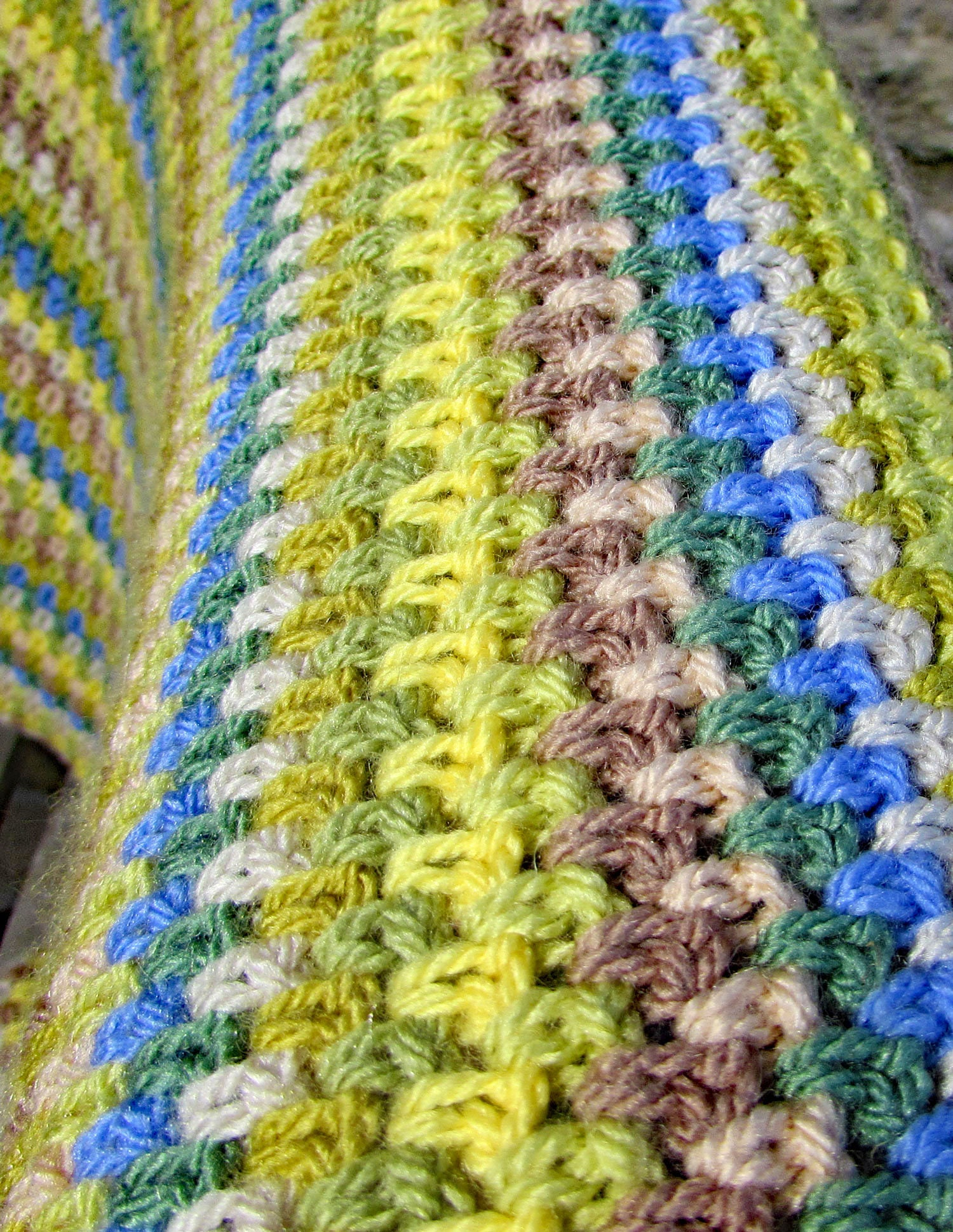 Crochet Blanket Pattern Lap Blanket Easy Crochet Pattern