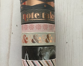 "Note Taken Washi Tape Samples | 24"" sample"