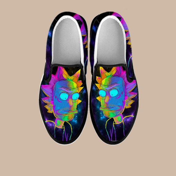 And Future Morty Shoes And Slip Swim Shoes Back Slip on Custom Rick Adult Rick Shoes Slip Morty Rick On the to ons Custom Sanchez nXYwHxgFq