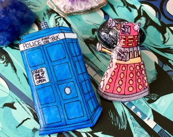 Geek Chic Lapel Pin Set || Doctor Who
