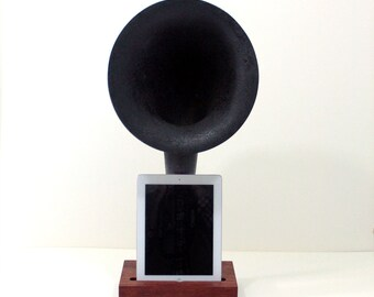 iHorn - iPad - iPad mini - iPhone - Acoustic  Speaker Horn - SUPER SALE - Old Time Speaker System for your iDevice
