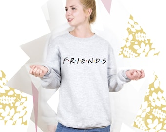 Friends TV Show Clothing Friends TV Show Sweatshirt Friends TV Show Sweater Friends tv Series Pullover Jumper for Men Women PA3029