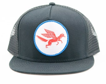 Fox Wings Patch Snap Back Hat