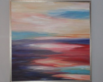 Beautiful Sunrise - Original Acrylic Painting