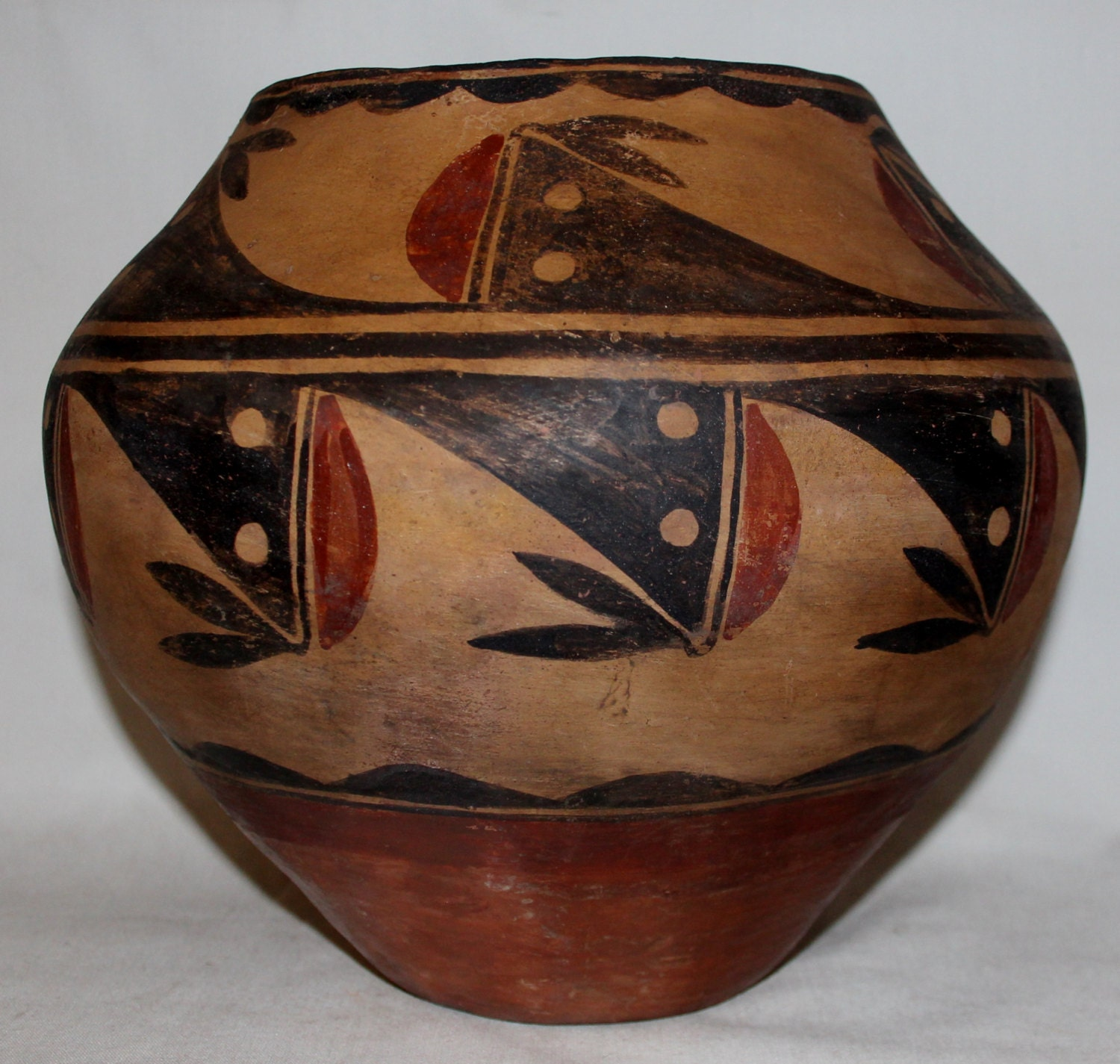 Native american pottery zia pueblo pottery olla polychrome zoom reviewsmspy