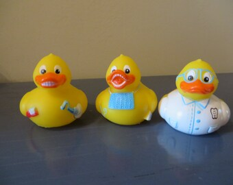 Day at the Dentist  rubber ducks - Dentist, Teeth Cleaning, Duck with Teeth