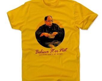 Seinfeld Men's Shirt | Funny George Costanza Men's Cotton T-Shirt I  George Costanza Answering Machine