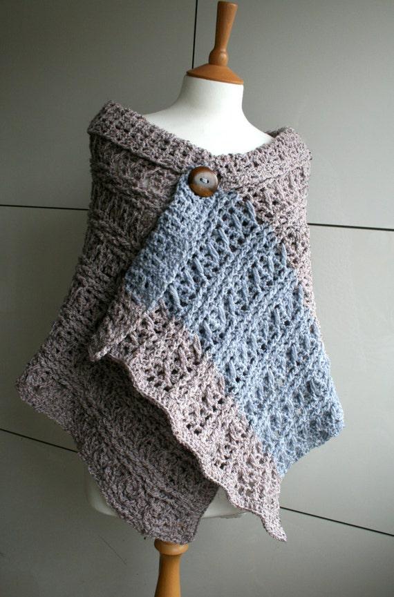 Crochet Pattern Instant Download Crochet Wrap Pattern