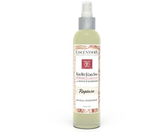 RAPTURE Room Mist & Linen Spray | Home Fragrance | Jasmine and Sandalwood | Aromatherapy