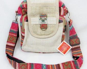 Hemp purse Travel purse Camera bag Passport bag hemp accessories hemp clothing