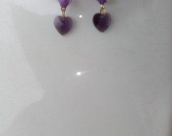 broken heart earrings