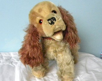 Vintage Mohair Cocker Spaniel by Trudi from Italy