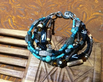 Boho, bohemian, rustic, hippie, bracelet