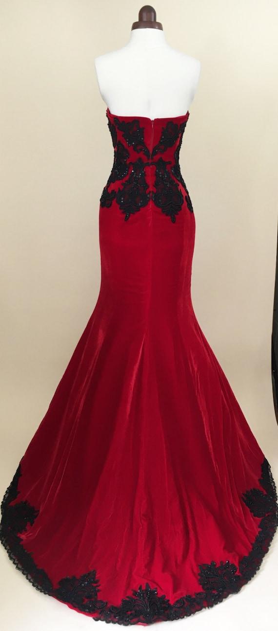 Long dress evening gown