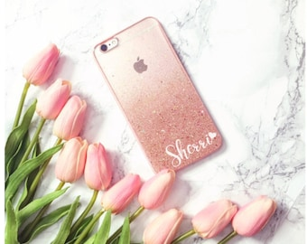 Rose Gold Phone case iPhone 7 case iPhone 7 Plus case iPhone 6S case iPhone 6S Plus case iPhone 8 case iPhone 8 Plus case iPhone x case