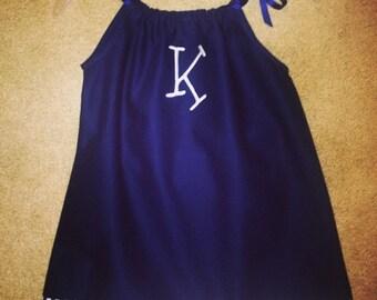 Custom Embroidered Pillowcase Dress