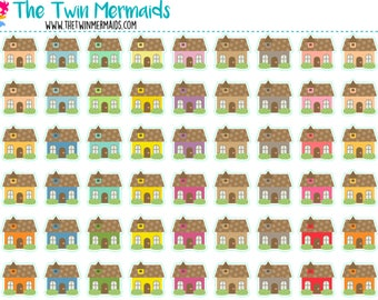 Houses Planner Stickers