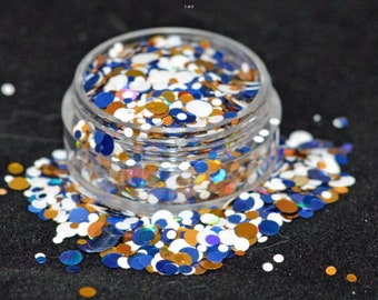 Cosmetic grade chunky glitter for nail art, beauty and craft - miss marvel