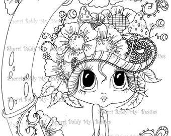 INSTANT digitale Digi Stamps Big Eye Big hoofd poppen Bestie Scan0008 Besties TM door Sherri Baldy downloaden
