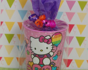 Hello Kitty Pre Filled Party Favor Goodie Bag - Kids Birthday Supplies - Hello Kitty Cup Party Favor - Hello Kitty Party Favor for Kids