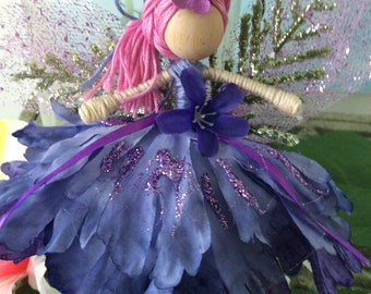 Flower fairy dolls